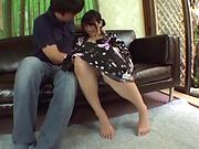 Amateur blowjob porn scenes with a hot Japanese AV model