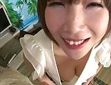 Amazing milf Yuuko Oohashi penetrated deep picture 14