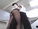 Cute office lady banged hard in hot fuck
