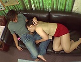 POV blowjob spectacle with a hot Japanese AV Model picture 16