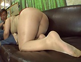 POV blowjob spectacle with a hot Japanese AV Model picture 20