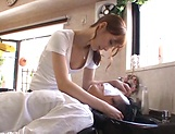 Hot massage turns into a great handjob by Kaede Fuyutsuki