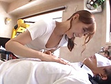 Hot massage turns into a great handjob by Kaede Fuyutsuki picture 8