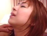 Sultry Karen Ichinose loves the taste of warm cum
