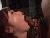 Adorable Emi Harukaze knows how to suck dick picture 14