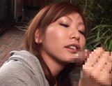 Adorable Emi Harukaze knows how to suck dick