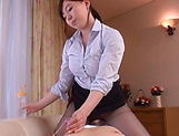Electrifying mistress tames stud with extreme bj picture 13