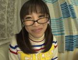 Playful Asianchick Miku Sunohara sucks dick on Japanese pov picture 12