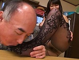 Mature Yukari Orihara gets smashed hard picture 11