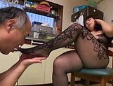 Mature Yukari Orihara gets smashed hard picture 13
