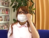 Aihara Marin loves getting screwed by two horny guys picture 12