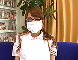 Aihara Marin loves getting screwed by two horny guys picture 13