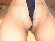 Hoshino Hibiki enjoys a kinky masturbation