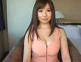 Azumi Chino, busty Asian milf in hot group action