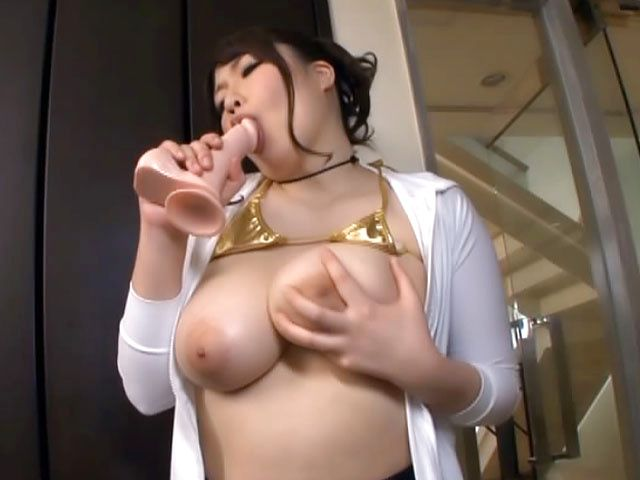Voluptuous Asian milf Chitose Saegusa hard fucked with toys on cam