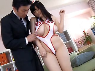 Kinky Mikoto Yatsuka loves sucking hard cock