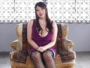 Saegusa Chitose has three well endowed lad to fuck