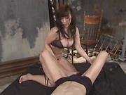 Cute Yuuna Hoshihaki has a wild fuck