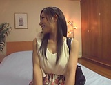 Slim brunette babe Yui Sasaki toyed sensually picture 13