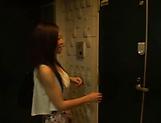 Slim brunette babe Yui Sasaki toyed sensually