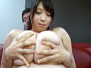 Amayoshi Shizuku pleasures a dude until cumshot