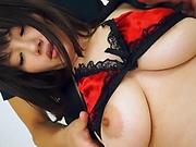Superb hardcore lingerie session with Asian milf Anna Kishi