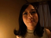 Stunning busty Asian babe loves being fucked