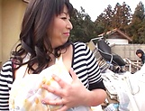Horny Yukari Orihara wants to be fucked picture 14