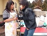 Horny Yukari Orihara wants to be fucked
