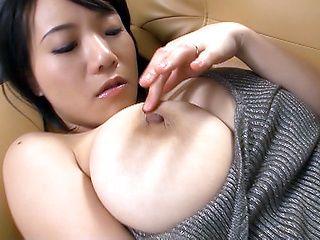 Busty Shibuya loves fingering wet pussy