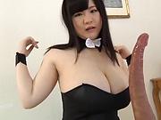 Busty Mikoto Yatsuka banged in hot fuck