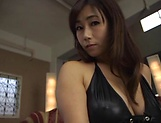 Miyabe Suzuka dick rides a dude until exhaustion picture 2