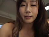 Miyabe Suzuka dick rides a dude until exhaustion picture 4