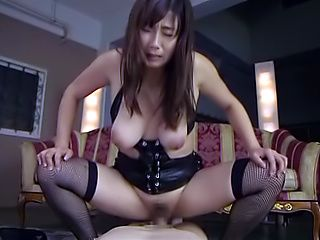 Miyabe Suzuka dick rides a dude until exhaustion