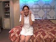 Yui Sasaki featured in an intense pounding
