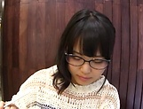 Hottie Kawai Mayu gets a messy facial. picture 12