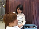 Hottie Kawai Mayu gets a messy facial. picture 15