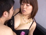 Ravishing hardcore for curvy Asian milf Miki Sato picture 10