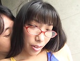 Nozomi Mikimoto in an invigorating pleasuring session picture 10