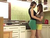 Mizuno Asahi enjoys a steamy hot lesbian fuck