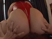 Erotic naughty play by sexy Haduki Naho