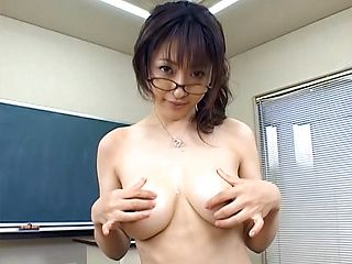 Sweet Sakura gets her marvelous tits banged