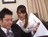 Stunning Aya Miyoshi enjoying her tight muff slammed