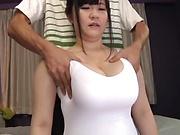 Busty Mikoto Yatsuka has her hole smashed