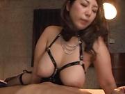 Haduki Naho shows her kinky hardcore skills