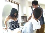 Kawai Mayu enjoys dick riding stiff shlongs