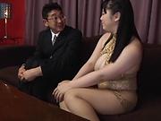 Busty Mikoto Yatsuka wants to be banged