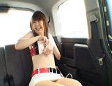 Nana Ayase Asian doll has hot car sex picture 11