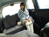 Nana Ayase Asian doll has hot car sex picture 1