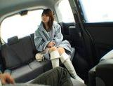 Nana Ayase Asian doll has hot car sex picture 2